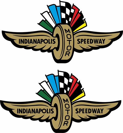 Picture of Indianapolis Speedway Stickers / Decals