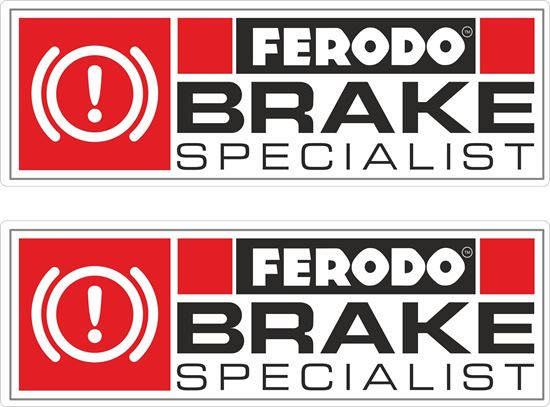 Picture of Ferodo Brake Specialist  Decals / Stickers
