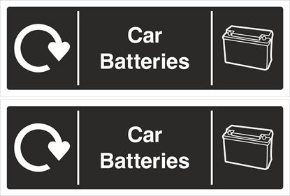 Picture of Car Batteries Decals / Stickers