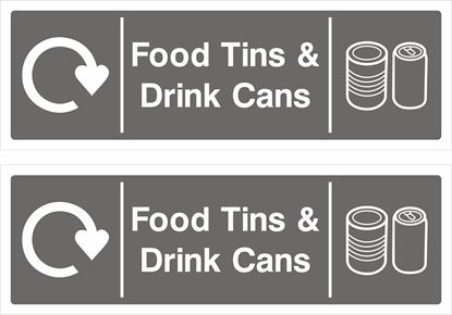 Picture of Food Tins & Drink Cans Decals / Stickers