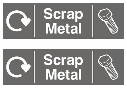 Picture of Scrap Metal Decals / Stickers