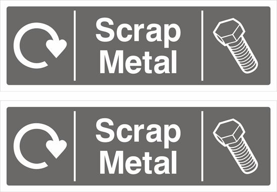Picture of Scrap Metal Decals / Stickers