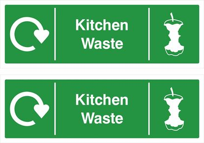 Picture of Kitchen Waste Decals / Stickers