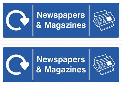 Picture of Newspapers & Magazines Decals / Stickers