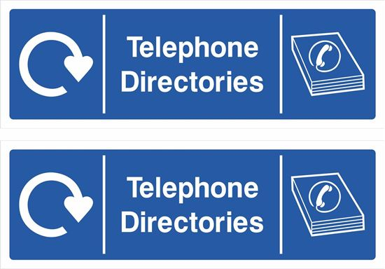 Picture of Telephone Directories Decals / Stickers