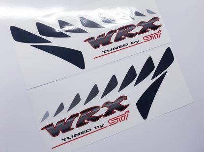 Picture of Subaru Impreza STI lower side Decals / Stickers