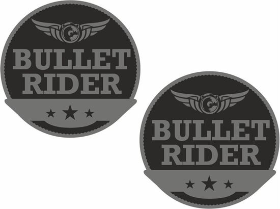 Picture of Bullet Rider Decals / Stickers
