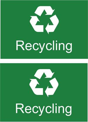 Picture of Recycling Decals / Stickers