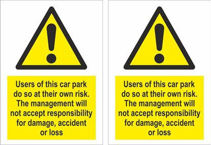Picture of Users of this car park... Decals / Stickers