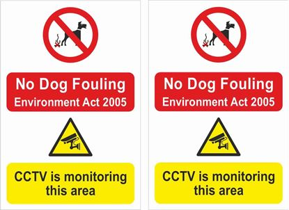 Picture of No dog fouling... Decals / Stickers