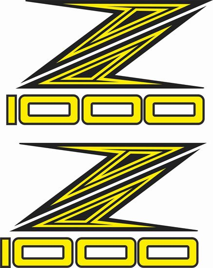 Picture of Kawasaki Z1000 Decals / Stickers