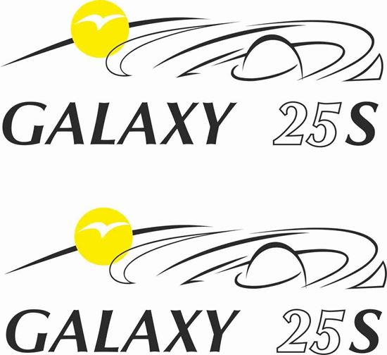 Picture of Pilote Galaxy 25 S  Decals / Stickers