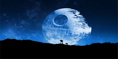 Picture of Death Star Vinyl Wrap Sheet