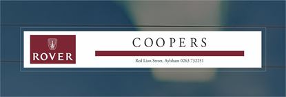 Picture of Coopers - Aylsham Dealer rear glass Sticker