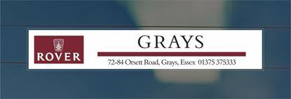 Picture of Grays - Essex Dealer rear glass Sticker