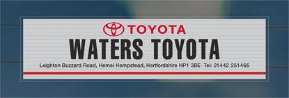 Picture of Waters Toyota - Hemel - Hempstead Dealer rear glass Sticker