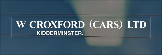 Picture of W Croxford - Kidderminster Dealer rear glass Sticker