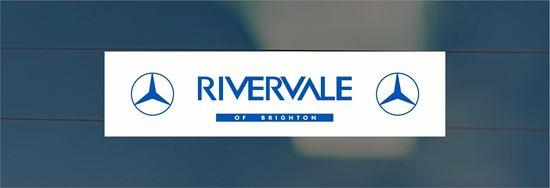 Picture of Rivervale of Brighton Dealer rear glass Sticker
