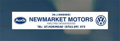 Picture of Newmarket Motors - Hertfordshire Dealer rear glass Sticker