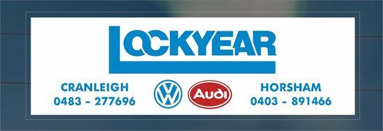 Picture of Lockyear - Cranleigh / Horsham Dealer rear glass Sticker