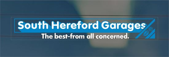 Picture of South Hereford Garages Dealer rear glass Sticker
