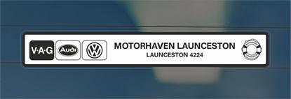 Picture of Motorhaven - Launceston Dealer rear glass Sticker