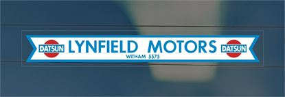 Picture of Lynfield Motors - Witham Essex Dealer rear glass Sticker