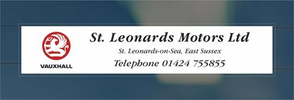 Picture of St Leonards Motors - East Sussex Dealer rear glass Sticker