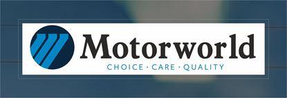 Picture of Motorworld Dealer rear glass Sticker