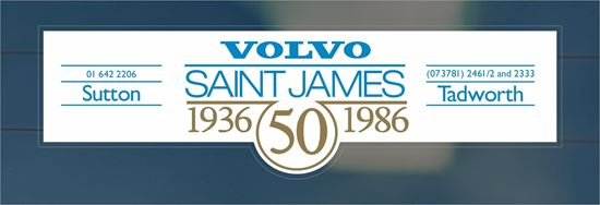 Picture of Saint James - Sutton - Tadworth realer rear glass Sticker