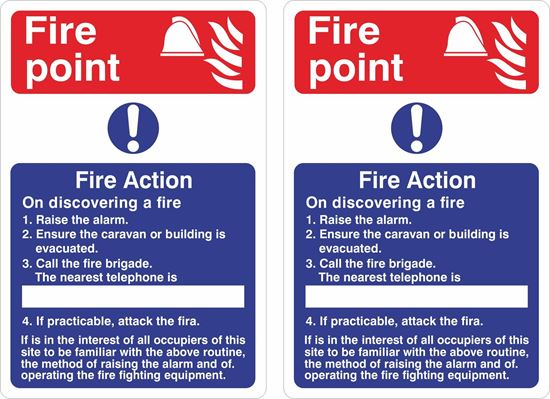 Picture of Fire point / Fire Action Decals / Stickers