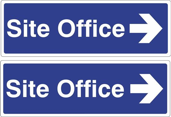 Picture of Site office Decals / Stickers