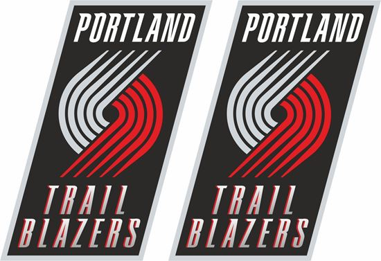 Picture of Portland Trial Blazers Decals / Stickers