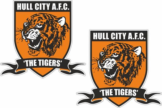 Picture of Hull City Tigers Decals / Stickers