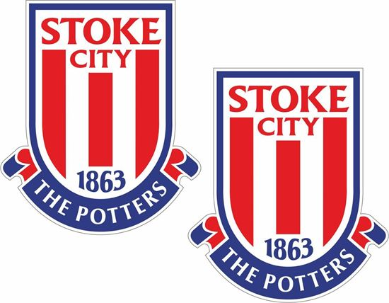 Picture of Stoke City FC Decals / Stickers