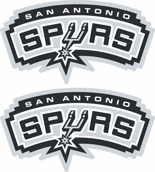 Picture of San Antonio Spurs Decals / Stickers