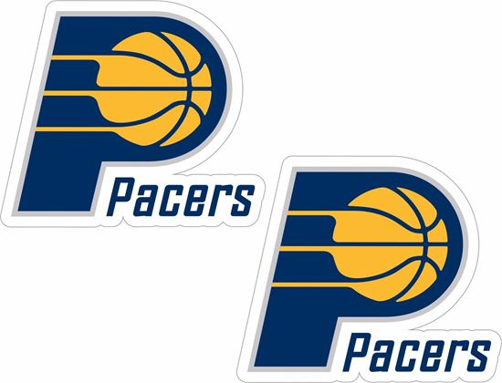 Picture of Indiana Pacers Stickers / Decals