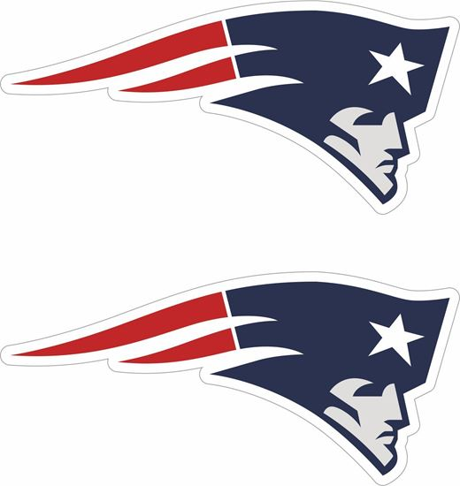 Picture of New England Patriots Decals / Stickers