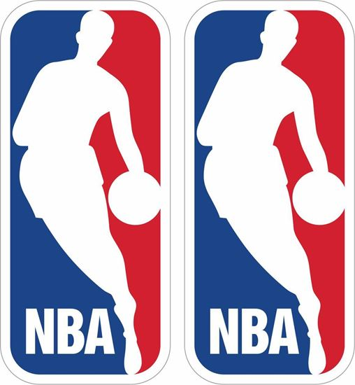 Picture of NBA Decals / Stickers