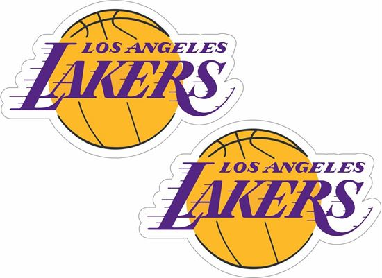 Picture of Los Angeles Lakers Decals / Stickers