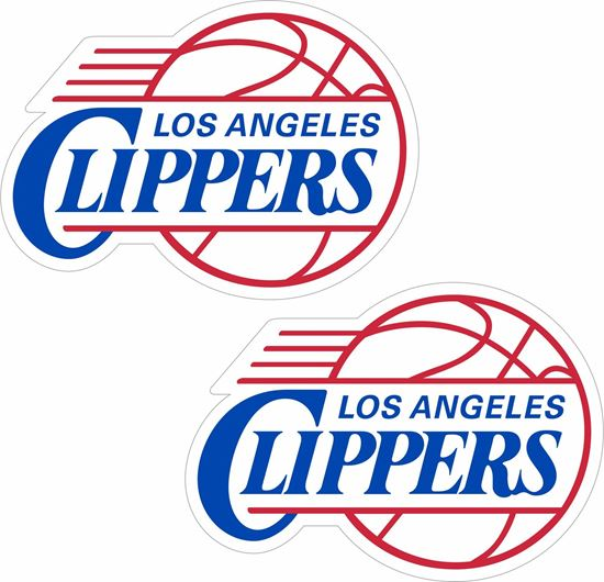 Picture of Los Angeles Clippers Decals / Stickers