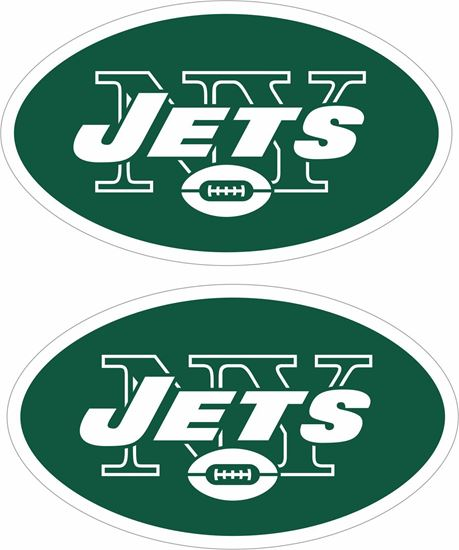 Picture of New York Jets Decals / Stickers
