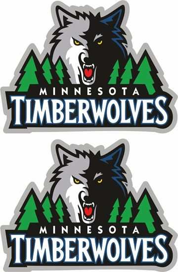 Picture of Minnesota Wolves Stickers / Decals