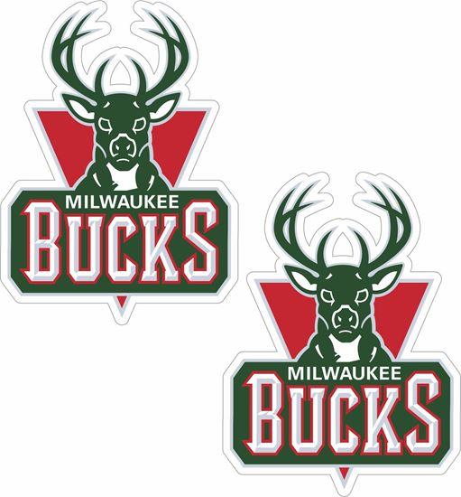Picture of Milwaukee Bucks Stickers / Decals