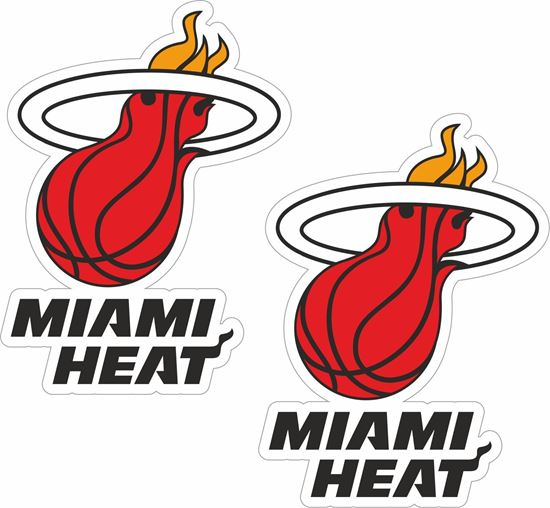 Picture of Miami Heat Decals / Stickers