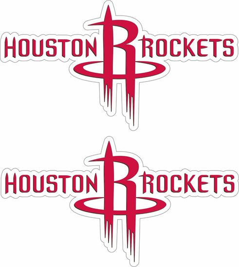 Picture of Huston Rockets Decals / Stickers