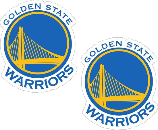 Picture of Golden State Warriors Decals / Stickers