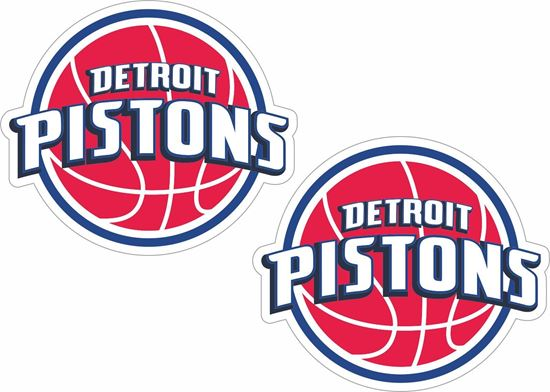 Picture of Detroit Pistons Decals / Stickers