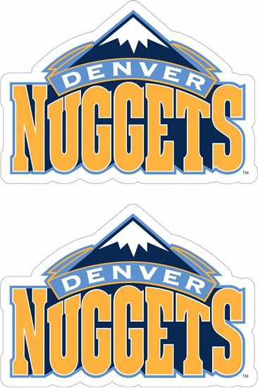 Picture of Denver Nuggets Decals / Stickers