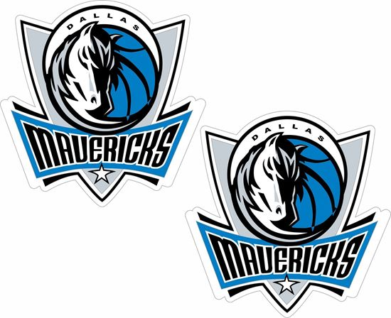 Picture of Dallas Mavericks Decals / Stickers